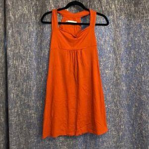 Susana Monaco Orange Dress